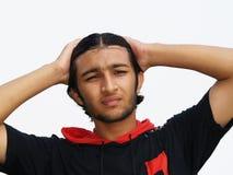 tonårs- asiatisk pojke Arkivfoton