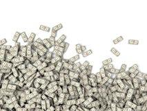 Tons av pengar Royaltyfri Fotografi
