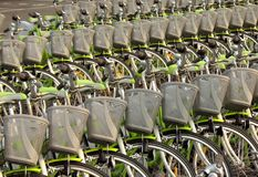 Tons of Bicycles Stock Photo
