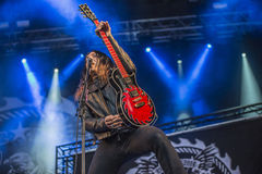 Tons of Rock 2014, W.A.S.P. Royalty Free Stock Photos