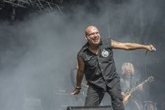 Tons of Rock,  Blaze Bayley band (day 1) Stock Photography