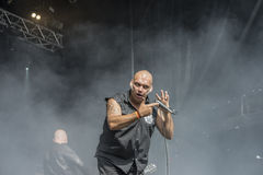 Tons of Rock,  Blaze Bayley band (day 1) Royalty Free Stock Image