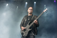 Tons of Rock 2014, Blaze Bayley band. Photo shot on the first day of Tons of Rock festival at Fredriksten fortress in Halden, Norway and shows: Blaze Bayley band Royalty Free Stock Image