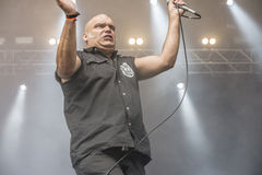 Tons of Rock 2014, Blaze Bayley band Royalty Free Stock Images