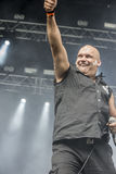 Tons of Rock 2014, Blaze Bayley band. Photo shot on the first day of Tons of Rock festival at Fredriksten fortress in Halden, Norway and shows: Blaze Bayley band Royalty Free Stock Images