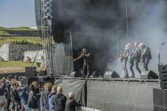 Tons of Rock 2014, Blaze Bayley band Stock Photos