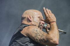 Tons of Rock 2014, Blaze Bayley band Stock Images