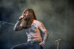 Tons of Rock, Kvelertak (day 1) Stock Image