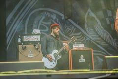 Tons of Rock 2014, Kvelertak Royalty Free Stock Images