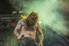 Tons of Rock 2014, Kvelertak Stock Images