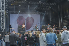 Tons of Rock 2014, Oslo Ess Royalty Free Stock Photography