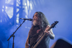 Tons of Rock, Slayer (day 3). Slayer is a Grammy Award winning American heavy metal thrash metal band founded in Huntington Park, California, in 1981 by Tom Stock Images