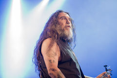 Tons of Rock, Slayer (day 3). Slayer is a Grammy Award winning American heavy metal thrash metal band founded in Huntington Park, California, in 1981 by Tom Stock Image