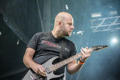 Tons of Rock, Soilwork (day 2) Royalty Free Stock Images