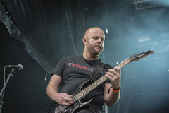 Tons of Rock, Soilwork (day 2) Stock Photography