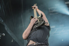 Tons of Rock, Soilwork (day 2) Stock Images