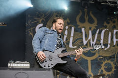 Tons of Rock, Soilwork (day 2) Royalty Free Stock Image
