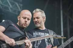 Tons of Rock 2014, Soilwork Stock Photography