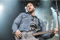 Tons of Rock 2014, Soilwork Royalty Free Stock Photo