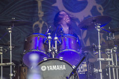 Tons of Rock 2014, Soilwork Royalty Free Stock Images
