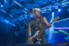 Tons of Rock, Turbonegro (day 2) Royalty Free Stock Images