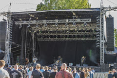 Tons of Rock, Uncle Acid & the Deadbeats (day 1) Royalty Free Stock Image