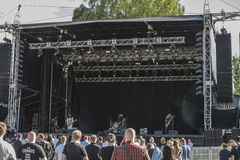 Tons of Rock 2014, Uncle Acid & the Deadbeats Stock Images