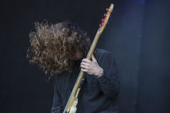 Tons of Rock 2014, Uncle Acid & the Deadbeats Royalty Free Stock Images