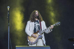 Tons of Rock 2014, Uncle Acid & the Deadbeats Stock Photo