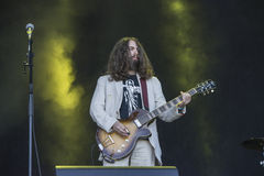 Tons of Rock 2014, Uncle Acid & the Deadbeats Royalty Free Stock Photos
