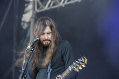 Tons of Rock 2014, Uncle Acid & the Deadbeats Royalty Free Stock Image
