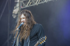 Tons of Rock 2014, Uncle Acid & the Deadbeats Royalty Free Stock Photo