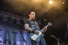 Tons of Rock, Volbeat (day 1) Stock Photos