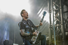 Tons of Rock 2014, Volbeat Stock Images
