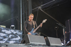 Tons of Rock 2014, Volbeat Royalty Free Stock Photography