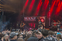 Tons of Rock, W.A.S.P. (day 2) Stock Image