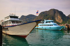 Tonsai Bay,  Island Phi Phi,  Thailand Royalty Free Stock Images