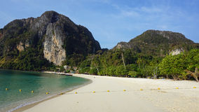 tonsai bay on ko phi phi Stock Photo