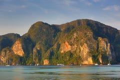 Tonsai Bay, Phi Phi,  Thailand Royalty Free Stock Photos