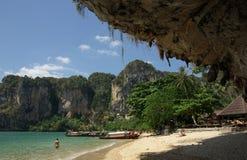 Tonsai beach, Krabi province, Thailand Stock Photo