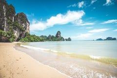 Tonsai beach in Thailand Royalty Free Stock Photo