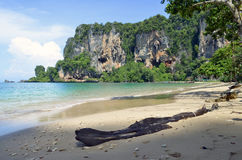Tonsai-Strand nahe Railay Stockbild