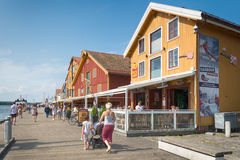 Tonsberg - Νορβηγία στοκ φωτογραφίες