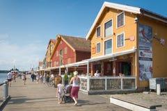 Tonsberg - Noorwegen Stock Foto's