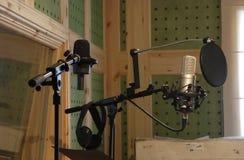 Tonstudio Stockfotografie