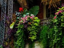Tontería decorativa en el barrio francés en New Orleans fotografía de archivo