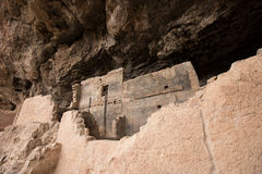 Tonto cliff dwelling in arizona Stock Images