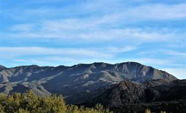 Tonto Nationaal Bos, U van Arizona S Ministerie van Landbouw, Verenigde Staten stock afbeeldingen