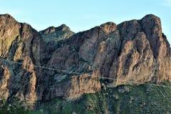 Tonto Nationaal Bos, U van Arizona S Ministerie van Landbouw, Verenigde Staten stock foto