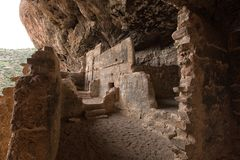 Tonto native american indian ruins cliff dwelling. In Arizona USA Royalty Free Stock Image